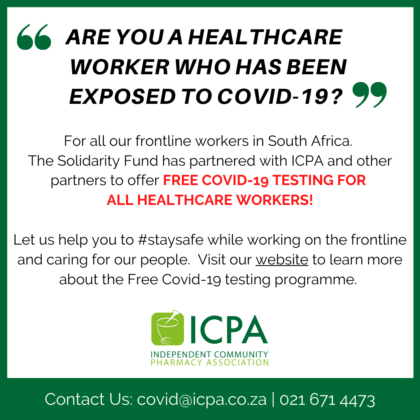 Free COVID-19 Testing for Healthcare Workers