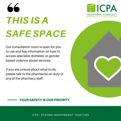 Pharmacy Safe Spaces